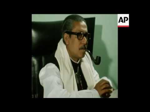 AN INTERVIEW WITH PRESIDENT MUJIBUR on 16-1-72