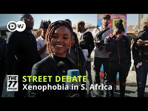 South Africa's struggle against xenophobia