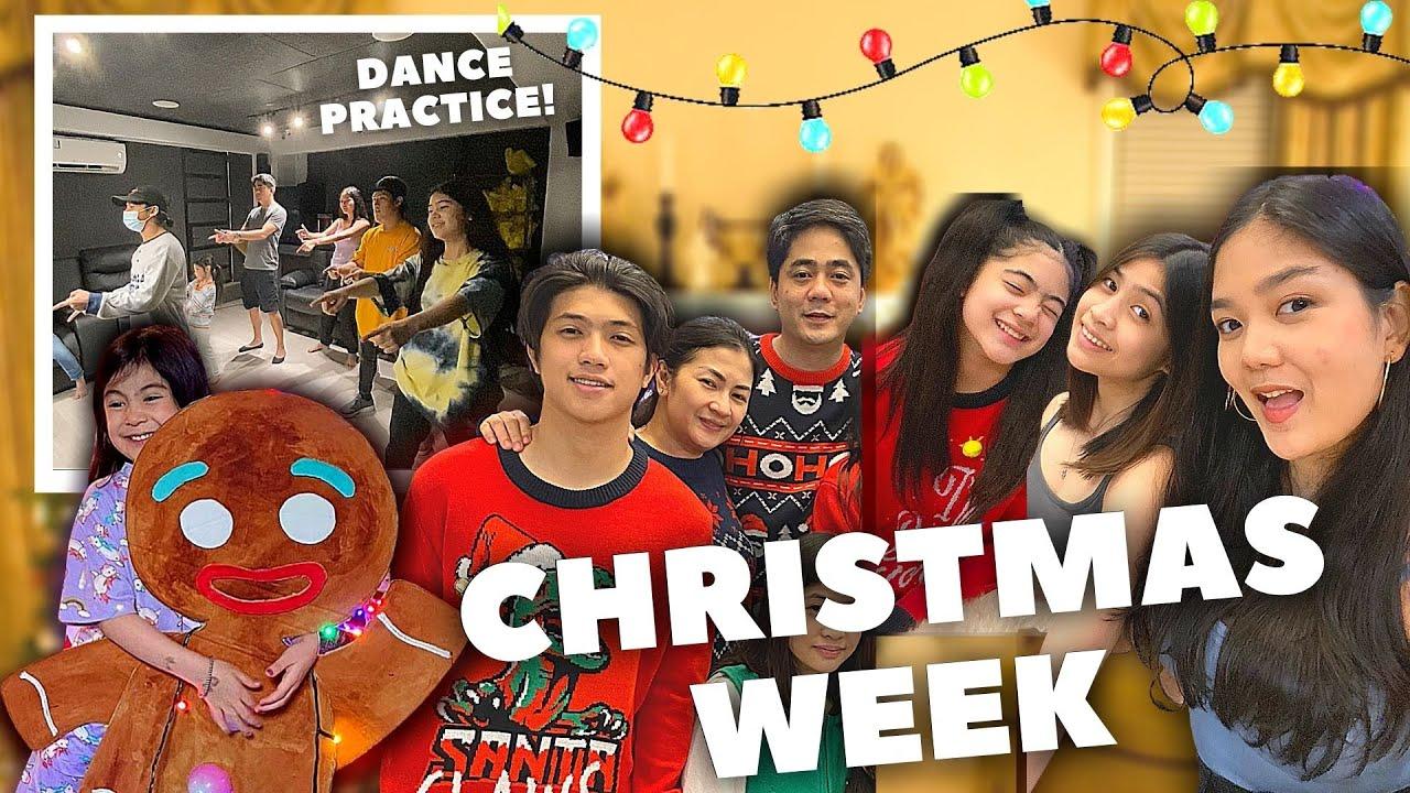 Download My CHRISTMAS WEEK 2020! (Dance Practice + Opening GIFTS) | Nina Stephanie