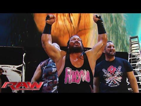 Rhyno Kehrt Zurück Und Unterstützt Die ECW Originals Gegen Die Wyatt Family: Raw – 7. Dezember 2015