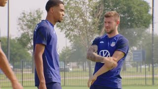 MIC'D UP: USMNT Defender Reggie Cannon at the Gold Cup