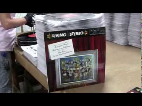 RCA Living Stereo LPs Now Pressing