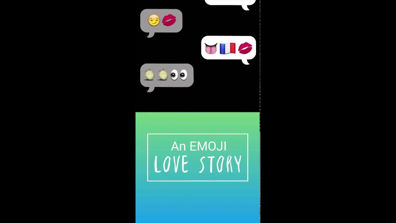 An emoji LOVE story - YouTube