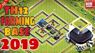 TOWN HALL 12 BEST FARMING BASE 2019 | TH12 DARK PROTECTION BASE 2019 - Clash of Clans