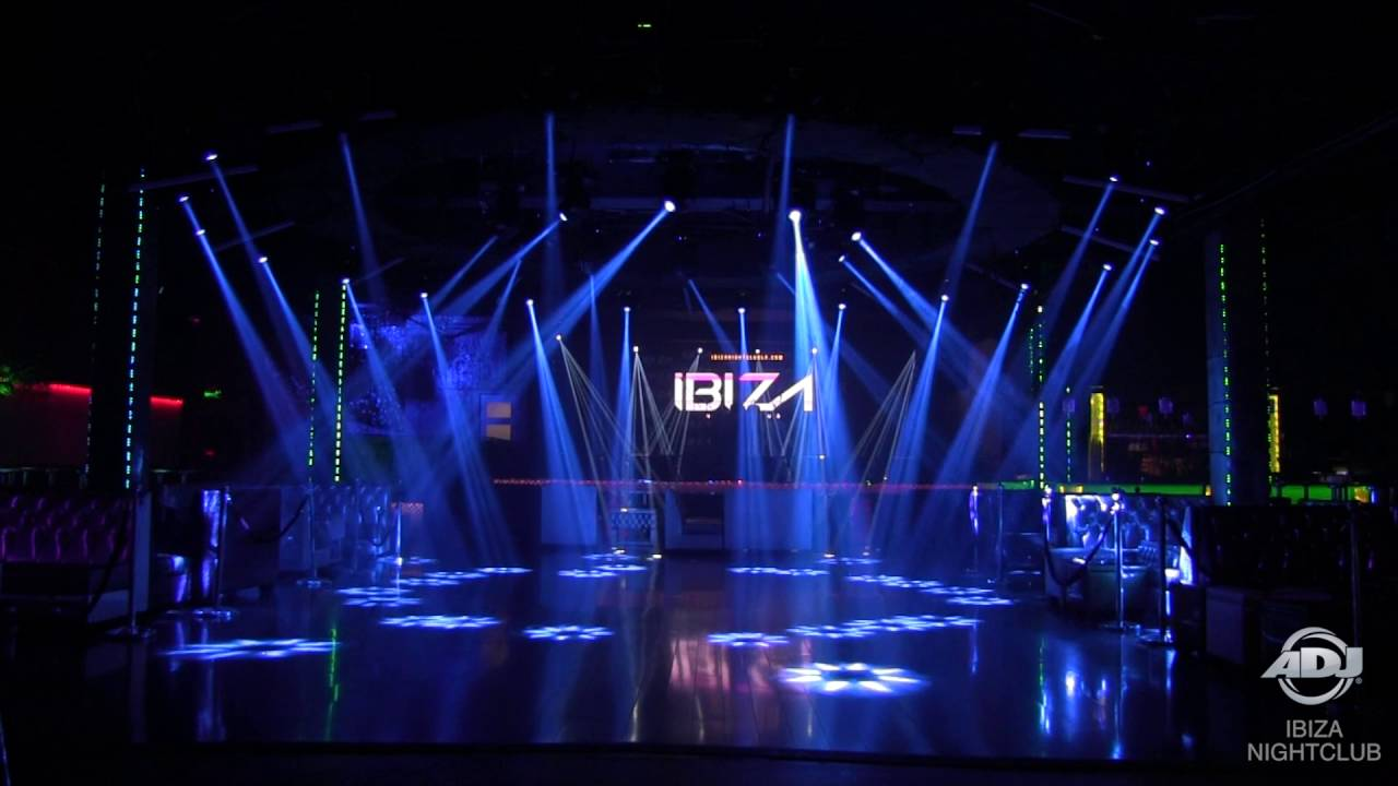 Adj Installation Ibiza Nightclub Youtube