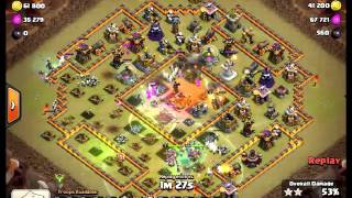 vuclip Clash of Clans Clan War TH11 vs TH11 3 Star Attack with Mass Witch Level 3