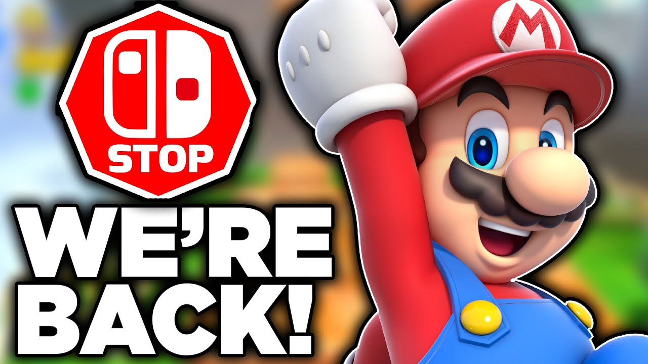 THE SWITCH STOP CHANNEL IS BACK! Our Channel Is SAVED!