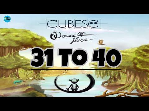Cubesc: Dream of Mira , Level 31 To 40 , iOS Walkthrough