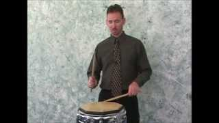 DPM - 3 - Beginning Snare Drum: Rudiments