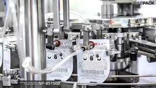 [NAOPACK] 마스크팩 자동포장기계 Automati…