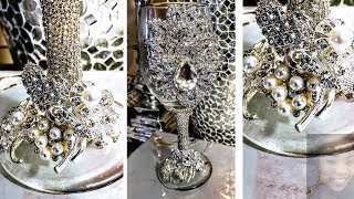 Dollar Tree DIY Luxurious Bling Centerpiece| DIY Easy Centerpieces