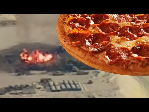 Fracking Fire Lasts Days But Free Pizza Makes It All Better