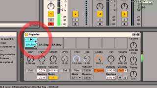 Ableton Live 9 For Beginners Level 1 Tutorial - Creating A Drum Beat