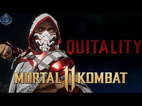 Mortal Kombat 11 Online - CRIMSON SCORPION MAKING PEOPLE RAGE QUIT!