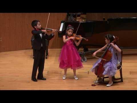 Haydn London Trio No. 4, Hob. IV (ages 7, 9, & 10)