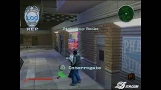 NARC PlayStation 2 Gameplay - Talk, Sucker