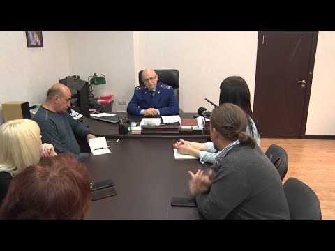 Встреча Туапсинского транспортного прокурора с журналистами