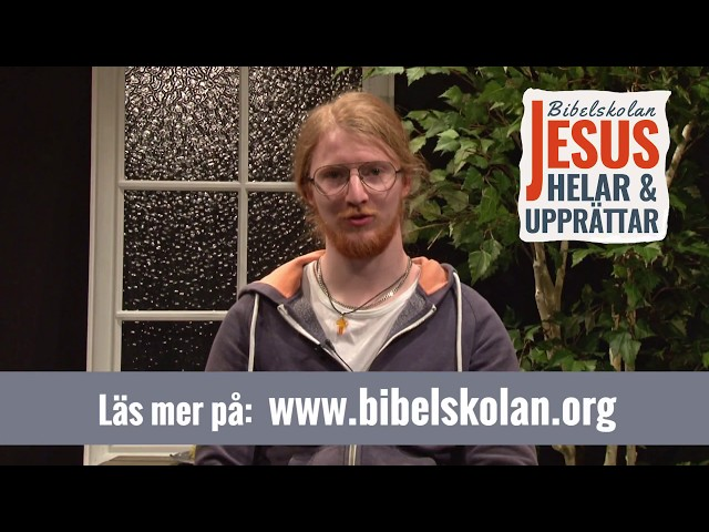 Davids vittnesbörd från Arkens bibelskola Jesus Helar och Upprättar