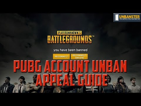 PUBG Unban Appeal Guide and Video – Updated for 2019 - Unbanster