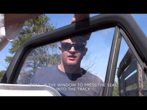 Project Ford Truck|Window Seals Episode 2