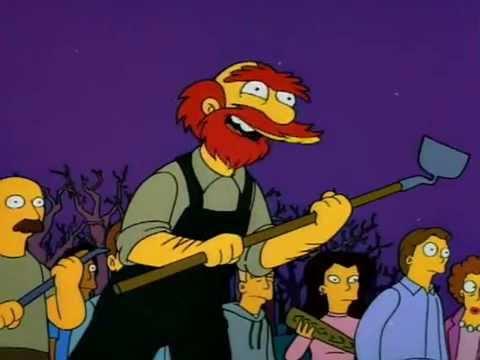 Los Simpson - Sr. Burns Matenlo