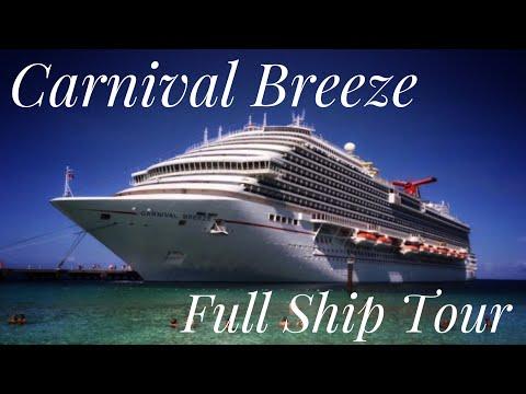 Carnival Breeze Full Ship Tour