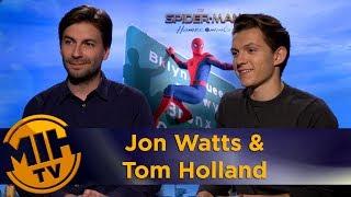 Jon Watts & Tom Holland Spider-Man: Homecoming Interview