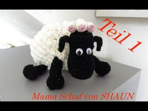Mama Schaf Von Shaun Das Schaf Häkeln Hufe Veronika Hug Teil 1