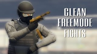 Clean Freemode Fights | GTA 5 Online