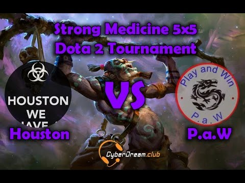 Strong Medicine 5x5 Dota 2 Tournament Houston vs P a W