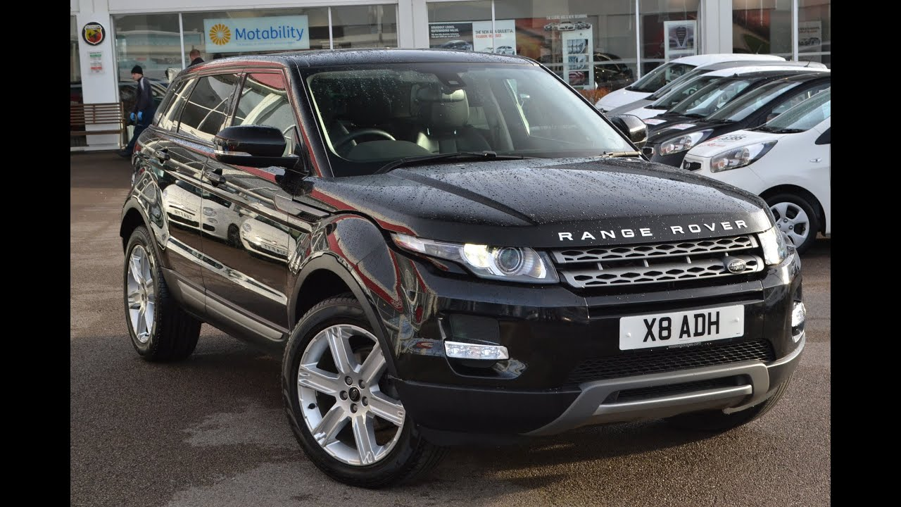 Wessex Garages | Used Range Rover Evoque SD4 PURE on ...