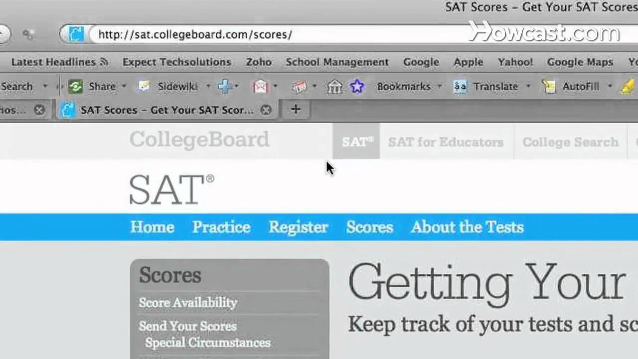 How to Check Your SAT Score
