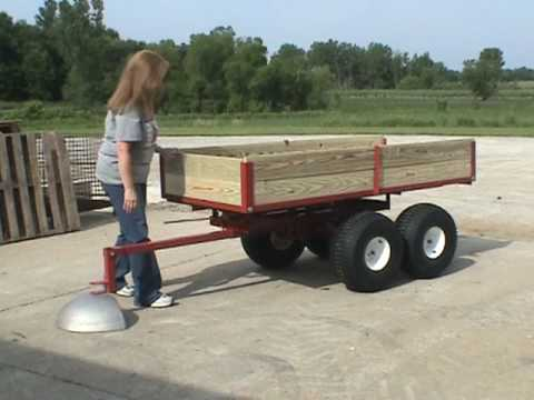 ATV Trailer Heavy Duty 2500 lb capacity by Country Manufacturing, Inc.