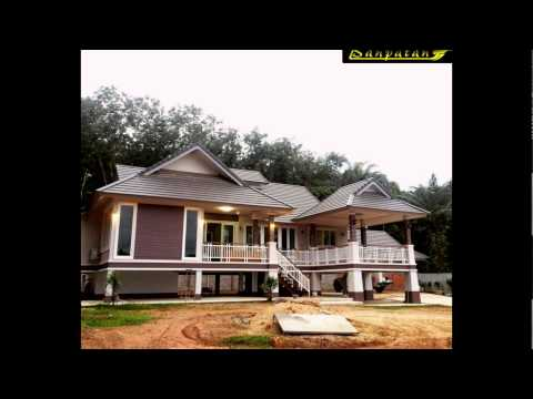 Thai House Plan Bp10 Youtube