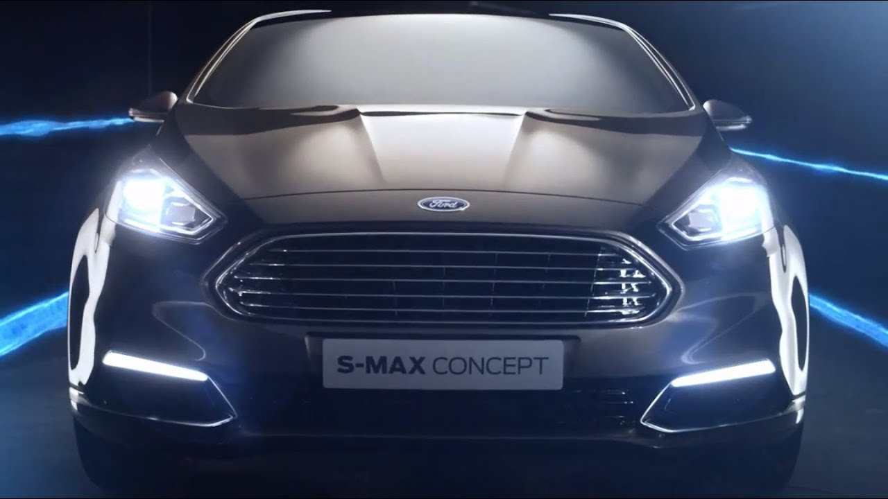 New Ford S-MAX Concept