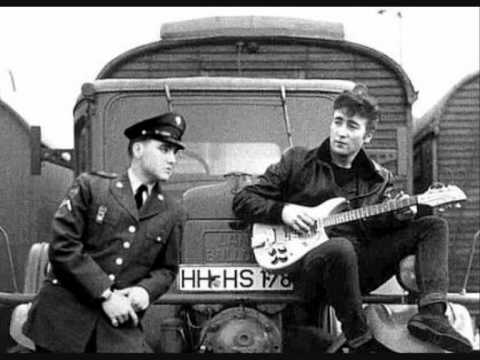Fotos De Johnny Hallyday >> John Lennon Telephones Elvis Presley 1960. - YouTube