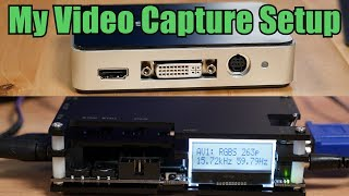 How I capture modern and retro video games - a look at the OSSC and Startech USB3HDCAP