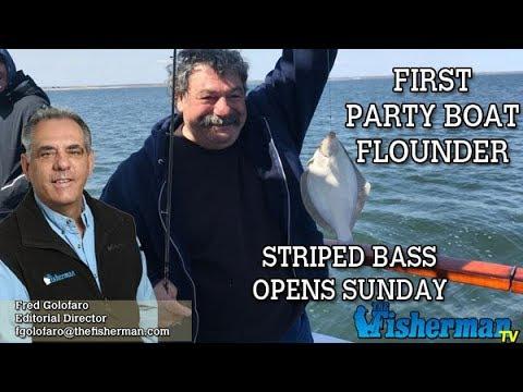 April 12, 2018 Long Island Metro Fishing Report with Fred Golofaro
