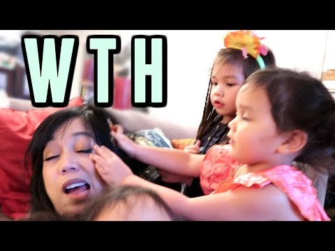 SCRATCHING MOMMY'S EYE OUT! - October 14, 2017 -  ItsJudysLife Vlogs