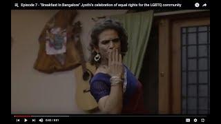 "Episode 7 - ""Breakfast In Bangalore""  Jyothi's dance of Joy"