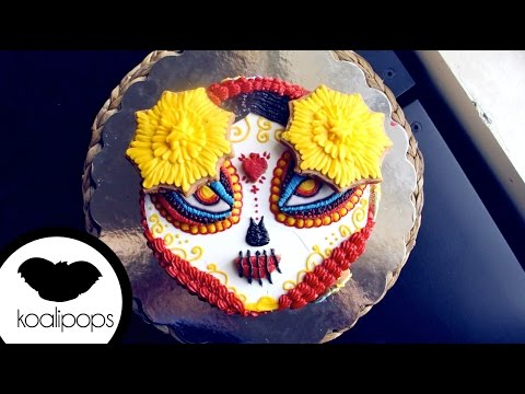 How to Make a La Muerte Cake from Book of Life | Become a Baking Rockstar