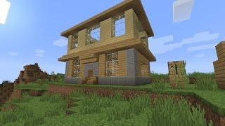 Minecraft PKX sinh tồn 1.9 #2 : xây nhà mới p1