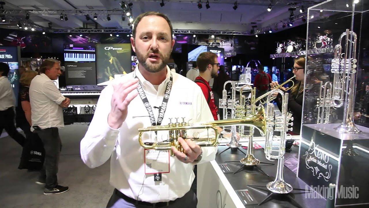 Yamaha Xeno YRT-8445 C Trumpet Demo