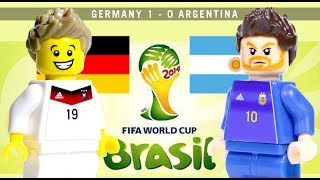 LEGO World Cup 2014 GERMANY vs ARGENTINA