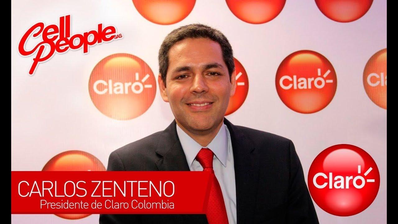 Carlos Zenteno Presidente de Claro Colombia - YouTube