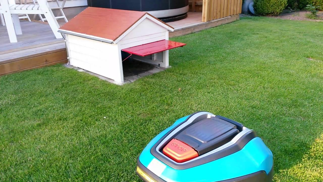 Garage robotgr sklippare youtube for W garage assurance
