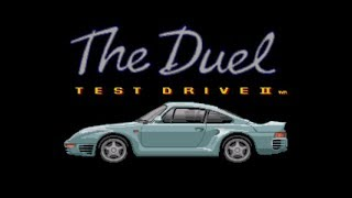 The Duel - Test Drive II Review for the SEGA Mega Drive by John Gage
