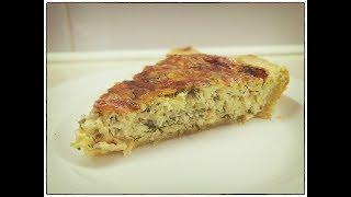 Сырный Пирог с зеленью - Вкуснейший Пирог с сыром и зеленью / Cheese Pie Recipe