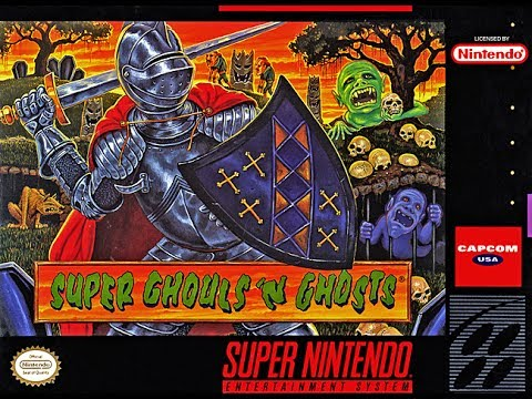 Gameplay Super Ghouls And Ghosts - YouTube