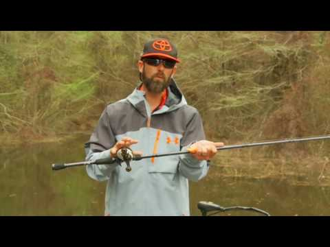 Mike Iaconelli: Selecting Crankbait Rods On the Water